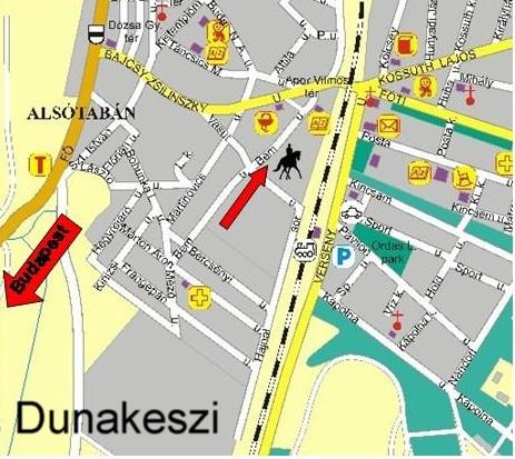 dunakeszi térkép Kapcsolat dunakeszi térkép
